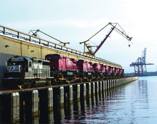 Lambert's Point Coal Terminal