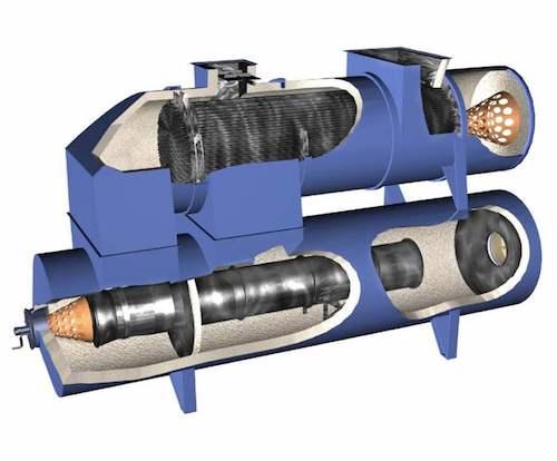 The CPI thermal Oxidizer QSR 3D.
