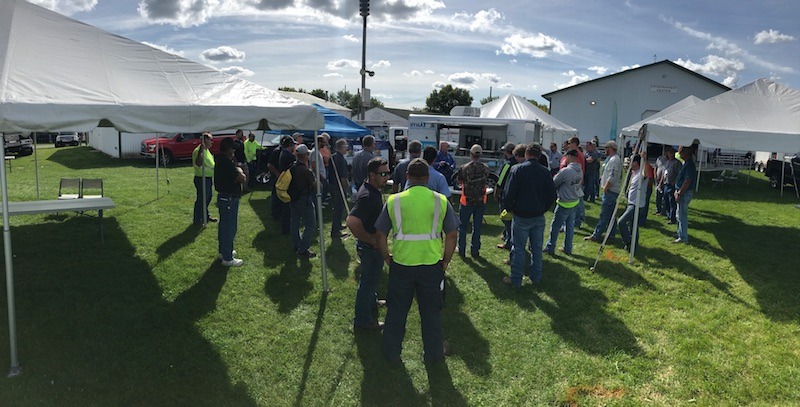 Doug Riseden has taught classes on safety at several conferences and events including the Minnesota Rural Water Assn. Expo (pictured) and Virginia Rural Water Assn. Conferences.