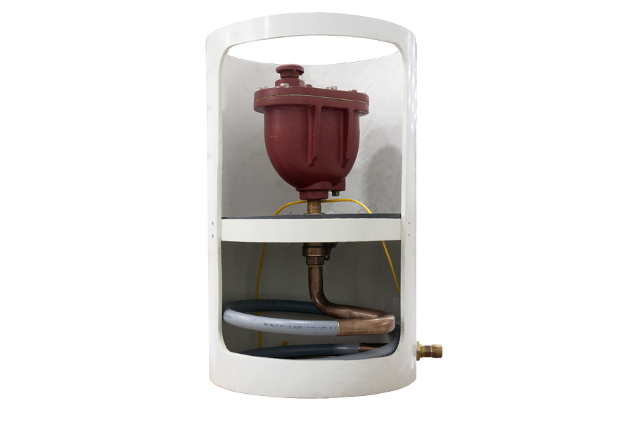 Air Release Valve Vault Helps Protect Pipes From Pressure Surges