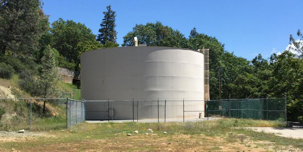 The 600,000-gal Ballpark Tank had a PAX Water Mixer and PAX Powervent