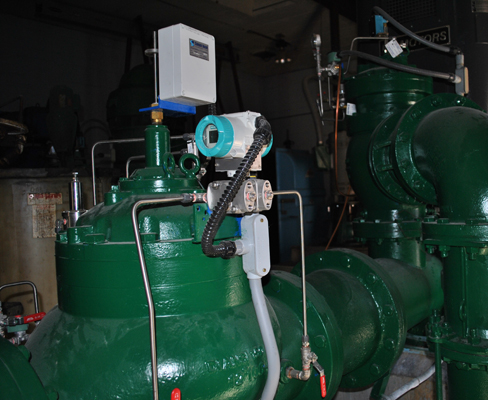 10-in. deep well pump control and 12-in. metering valve