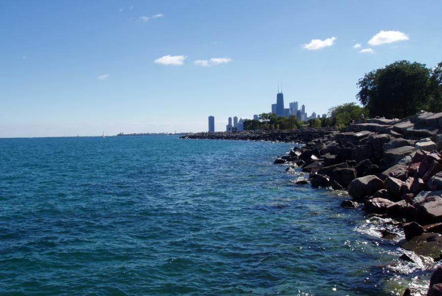 lake michigan, great lakes, challenge, competition, water utility energy, enter