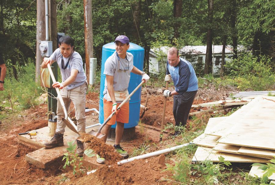 North Carolina neighborhood receives new water supply