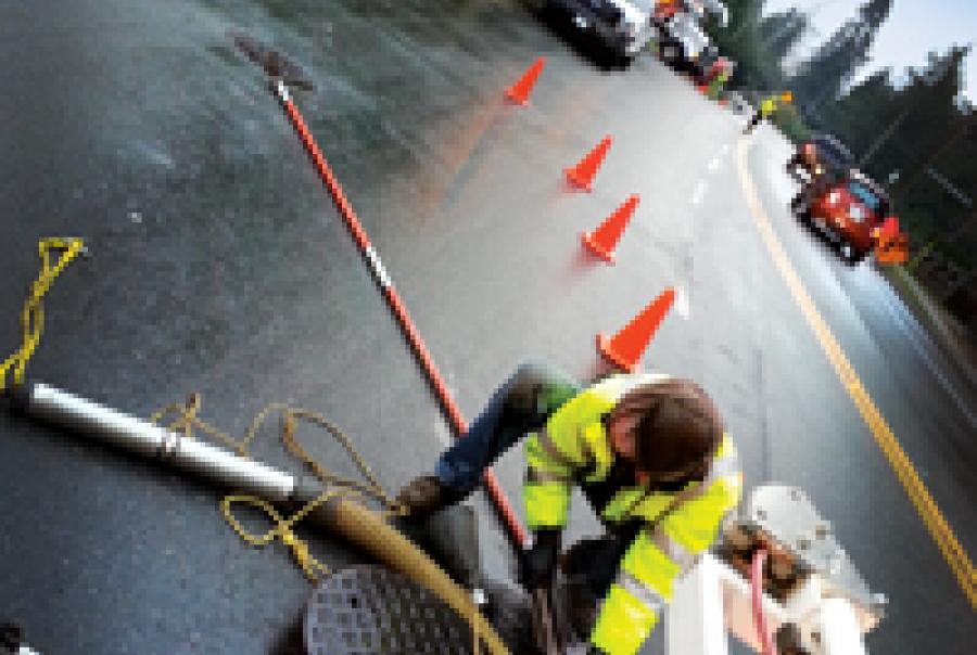 installation of cured-in-place pipe liners