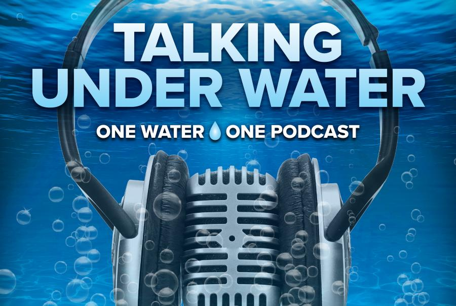In the fifth episode of Talking Under Water, One Water, One Podcast, your hosts Bob Crossen, Amy McIntosh and Lauren Baltas review recent news items about water scarcity, equipment affordability and Hurricane Florence.