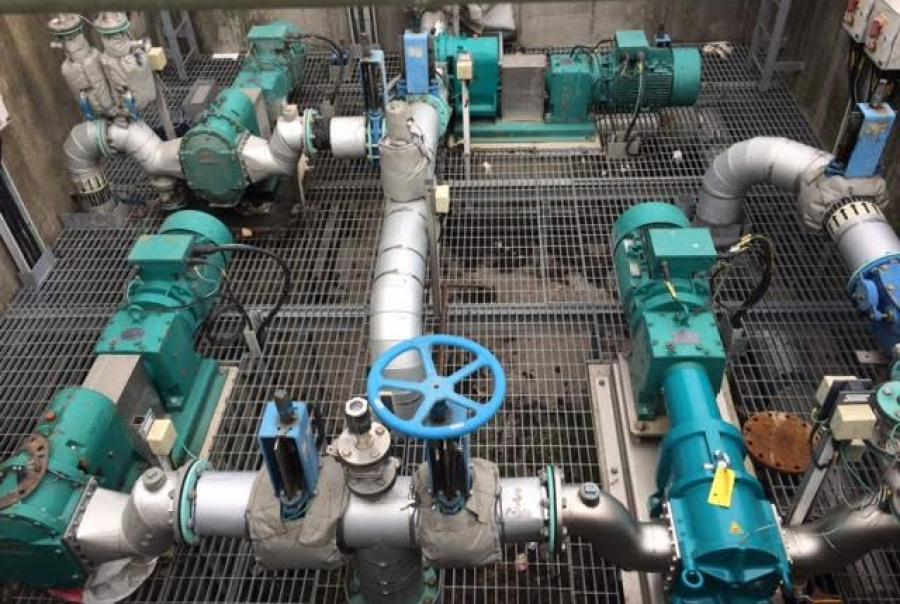 Pumps, Northumbrian Water, Howdon Sewage Treatment Works
