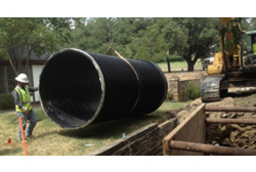 Sanitary Sewer Pipe