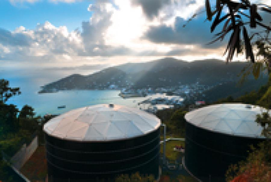 British Virgin Islands desalination