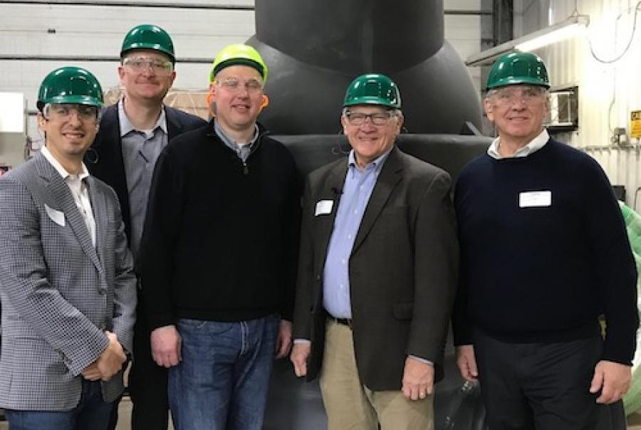 State senator tours Advanced Drainage Systems, Inc.
