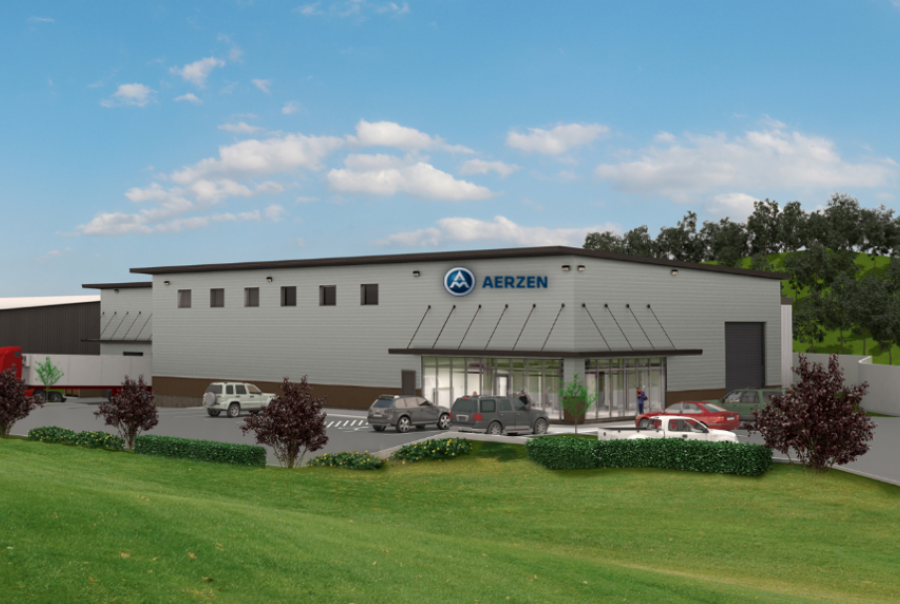Aerzen USA expands to Atlanta with 24,740 sq ft facility for sales, rental equipment and servicing.