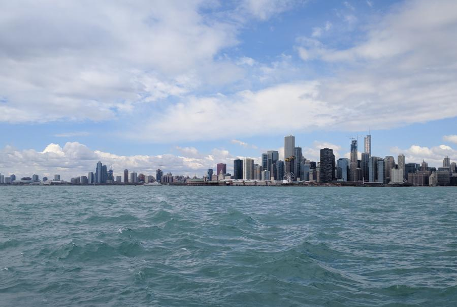 Two workers file lawsuit against the Metropolitan Water Reclamation District of Greater Chicago.