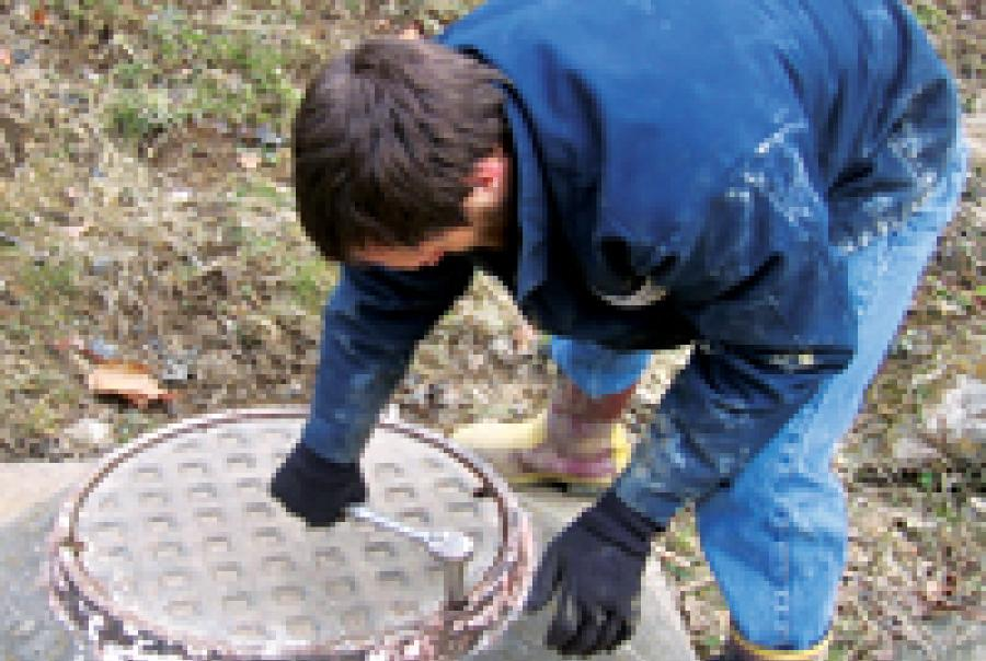 Clarksburg West Virginia Manhole Monitor Mission Communications