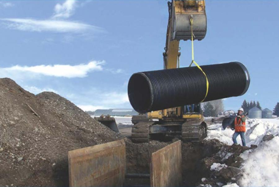 Steel-Reinforced Polyethylene Pipe Meets Idaho DEQ Integrity Standards