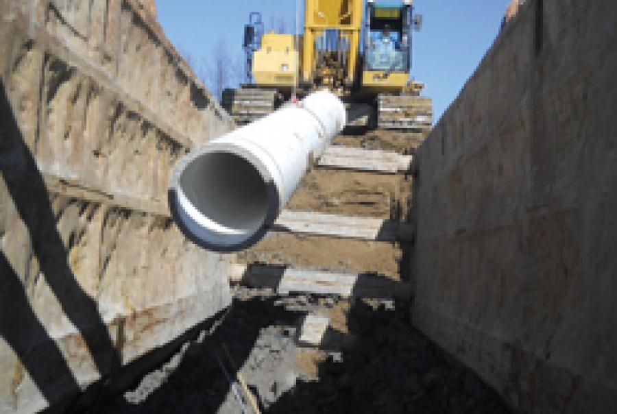 Gravity Sewer Pipe
