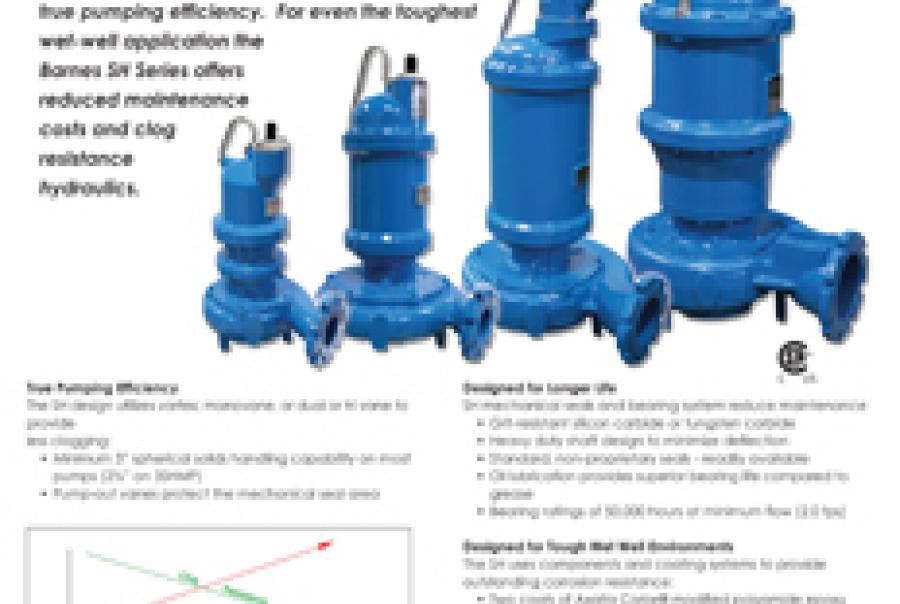 Submersible Solids-Handling Impellers