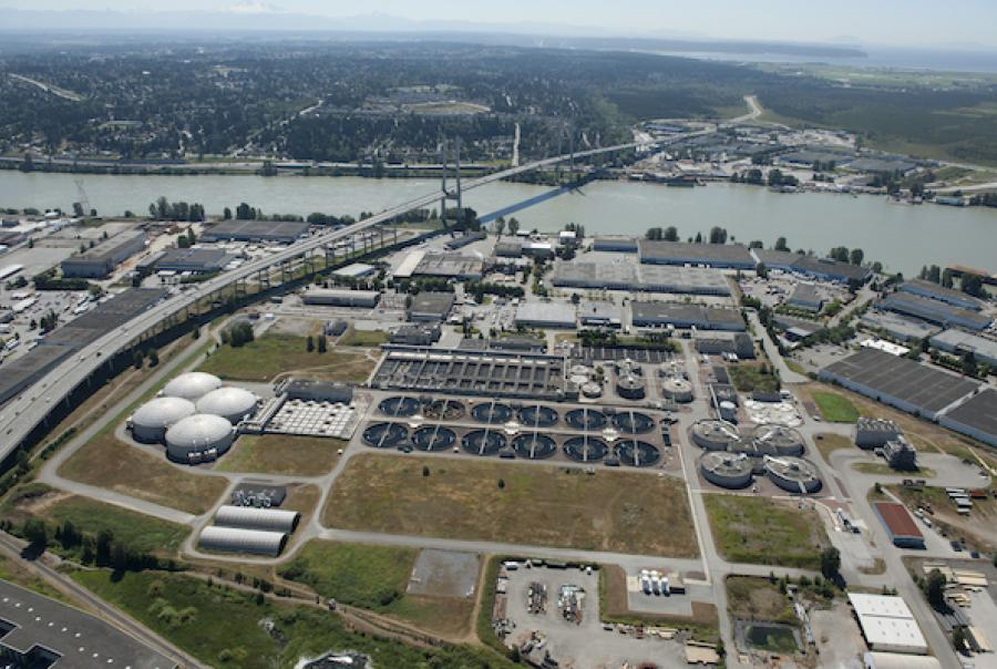 Wastewater treatment plant meets Canadian water standards using variable frequency drives