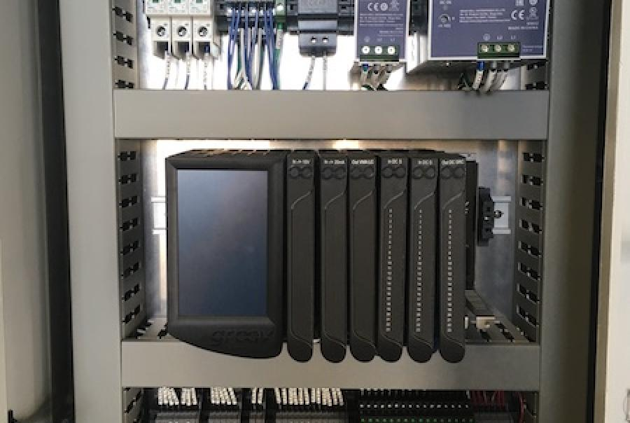 A control system with organized and neatly laid out parts can improve the speed and efficiency of addressing problems with the unit.