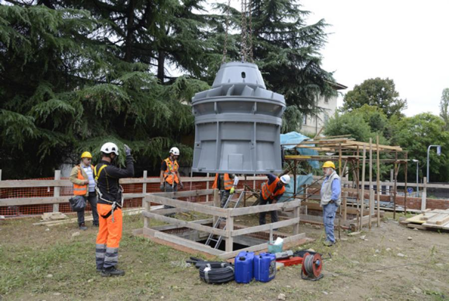 Building an Invisible and Soundless Power Plant in Italy