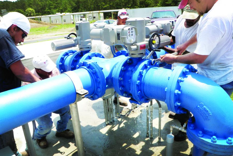 Aquifer storage recovery and brackish water recovery