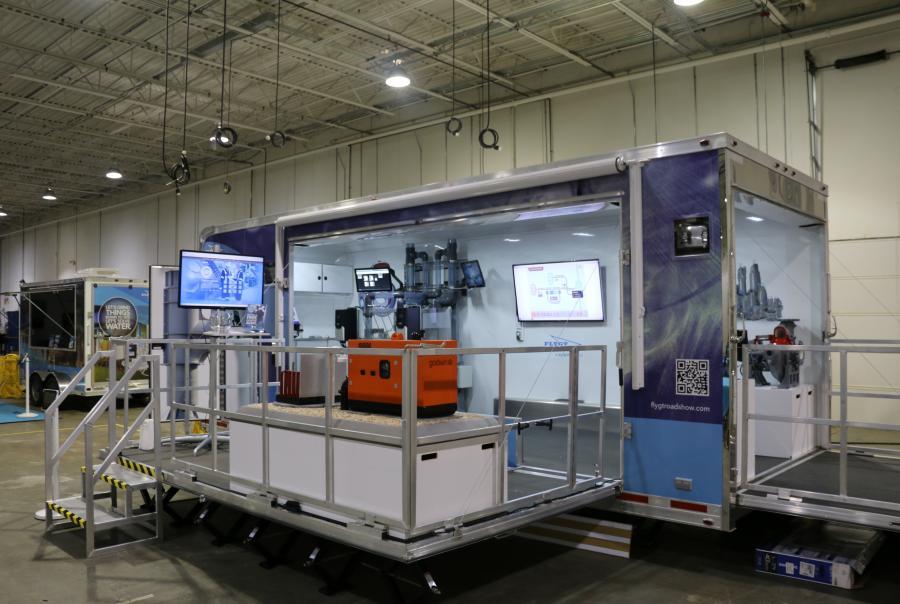 Xylem Flygt Godwin mobile display units pumps