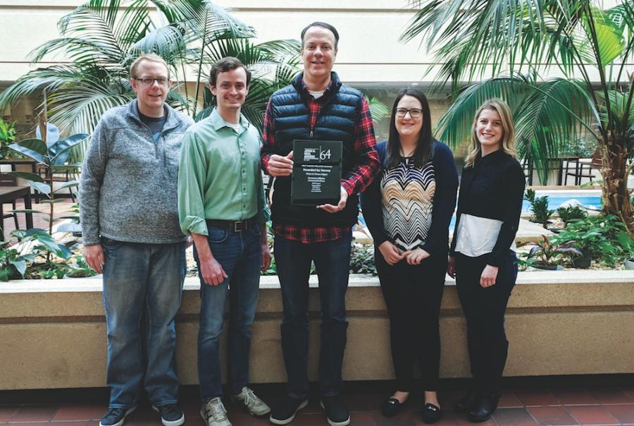 WWD staff wins Neal Award