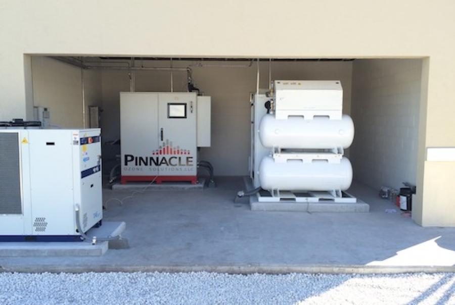 Pinnacle Ozone Palm Coast Florida water treatment plant