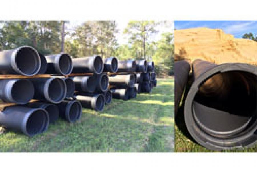 Ductile Iron Pipe Lining