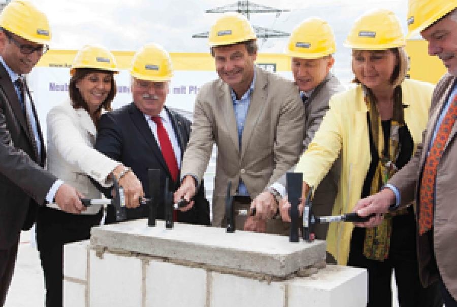 Kaeser Headquarters Lays Cornerstone for New Admin Building
