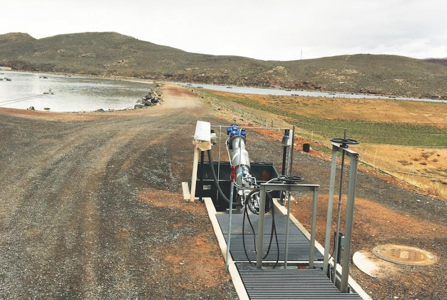 Screen improves aerator function at Utah facility