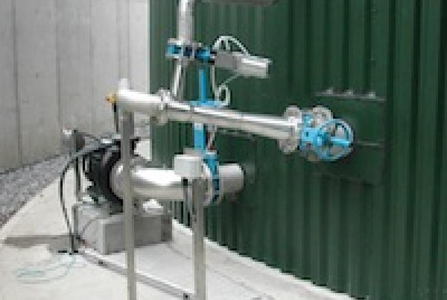 Landia GasMix digester mixing system Tullamore