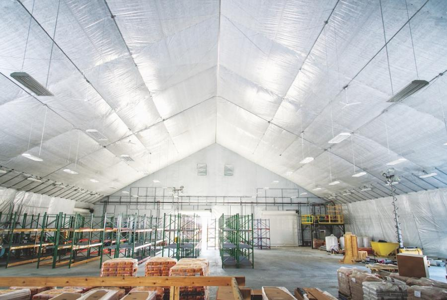 Mike Crummy writes on using fabric structures to create a massive storage site