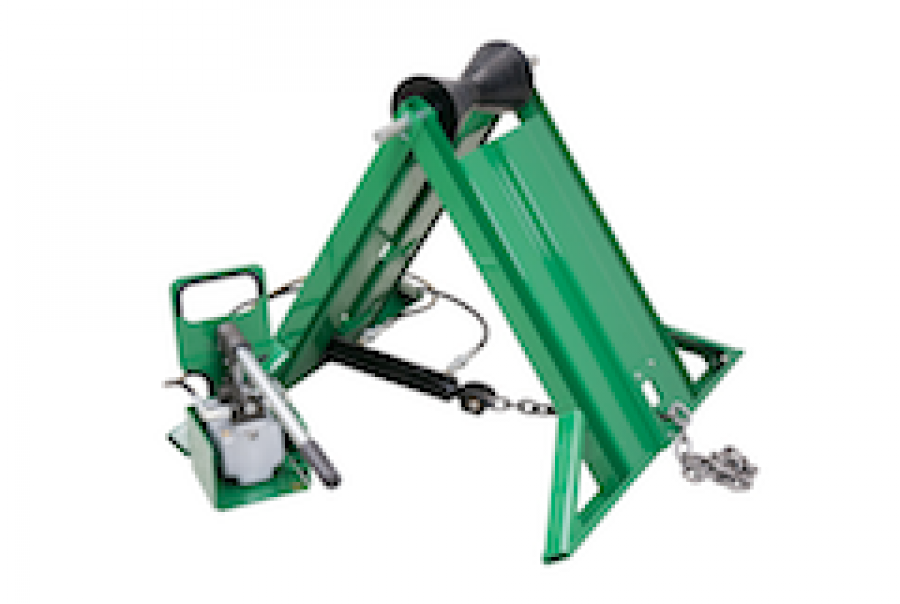 Hydraulic Pipe Stand