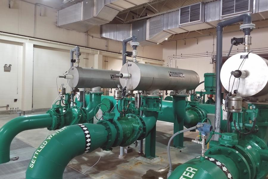 Prefilters protect microfiltration membranes for water treatment in Texas