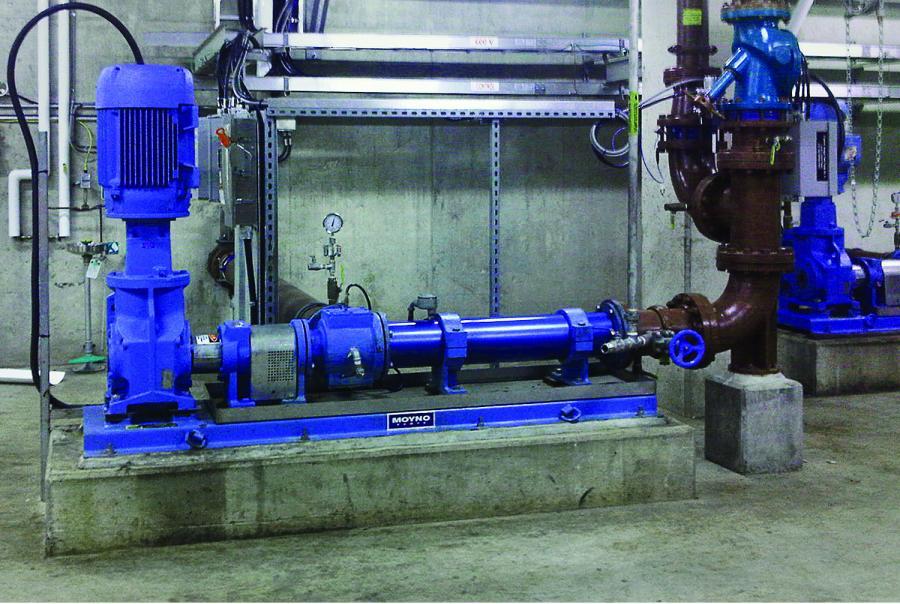 Hamilton Ontario Canada Waterwater Treatment Plants Moyno Urethan Stators