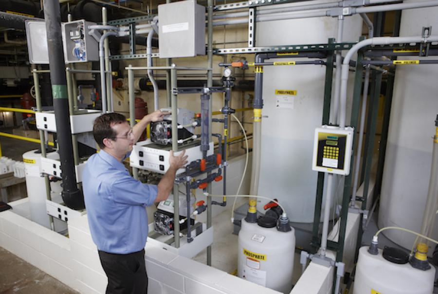 Municipal water  treatment plant adds new hardware & software to automation systems