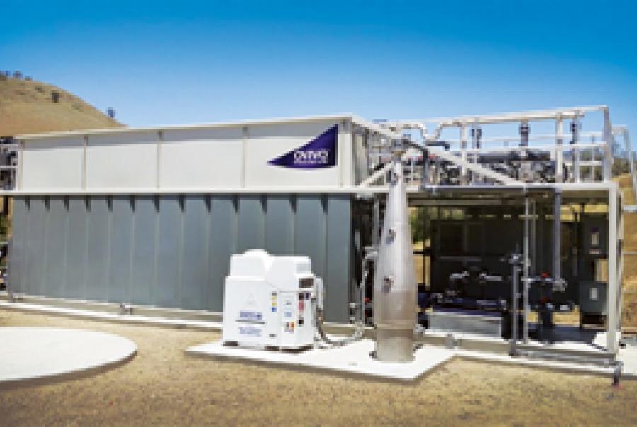 Ovivo membrane bioreactor MBR Sierra Nevada tribal