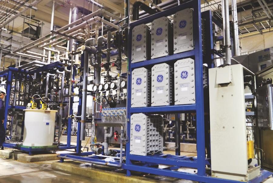 Mark Swisher writes on saving costs through an electrodeionization system