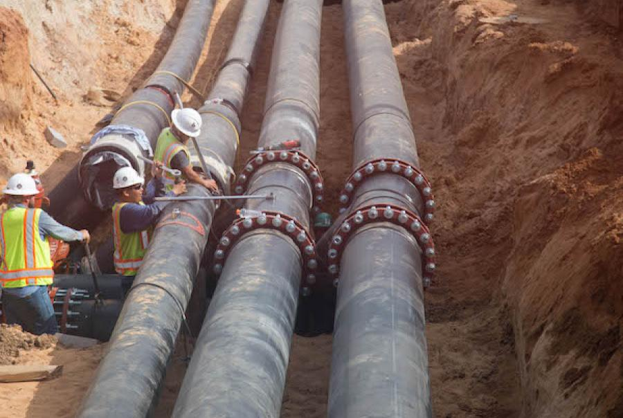 The RELLIS Academic Complex in Bryan, Texas, used PE-RT for it's hot water line installation.