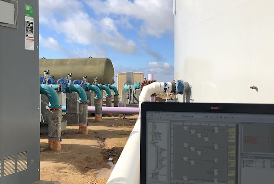 The final stages of commissioning a control system, such as at this potable water facility, can proceed smoothly if proper project execution methods are employed throughout the commissioning process. Establishing an early relationship with a systems integrator is an important step for proper execution.