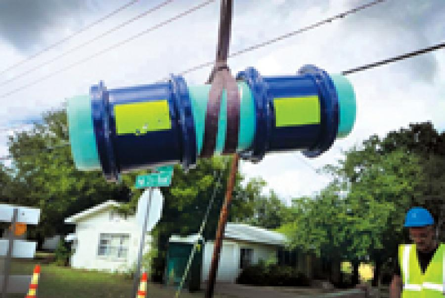 HYMAX coupling Haines City Florida pipe repair