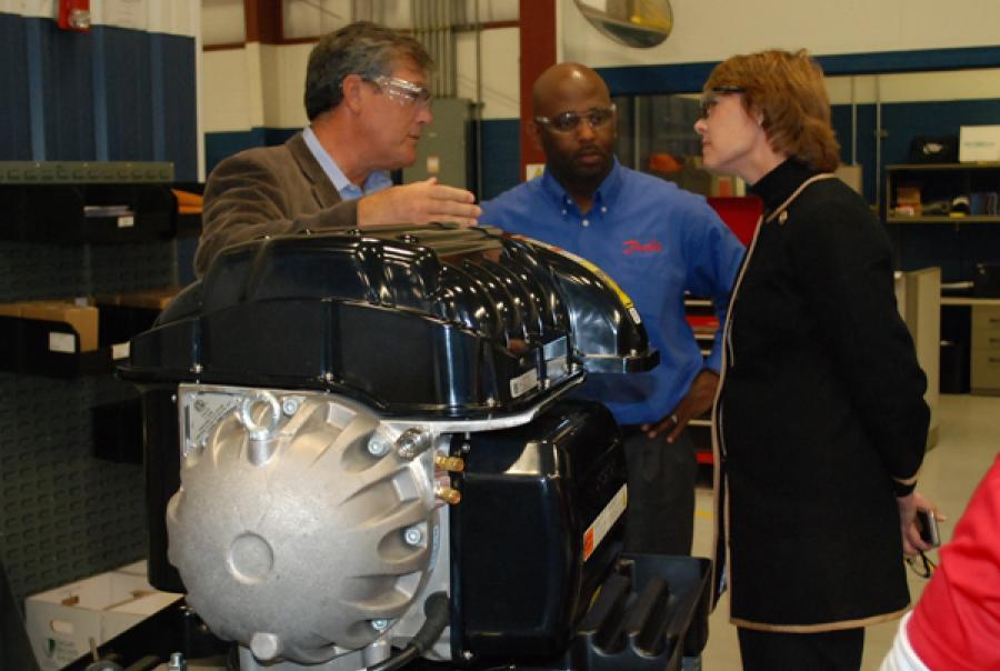 Danfoss Hosts Congresswoman at Manufacturing Facility
