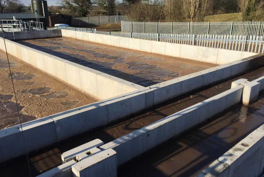 whites concrete, sealwall, effluent tank, rampton hospital