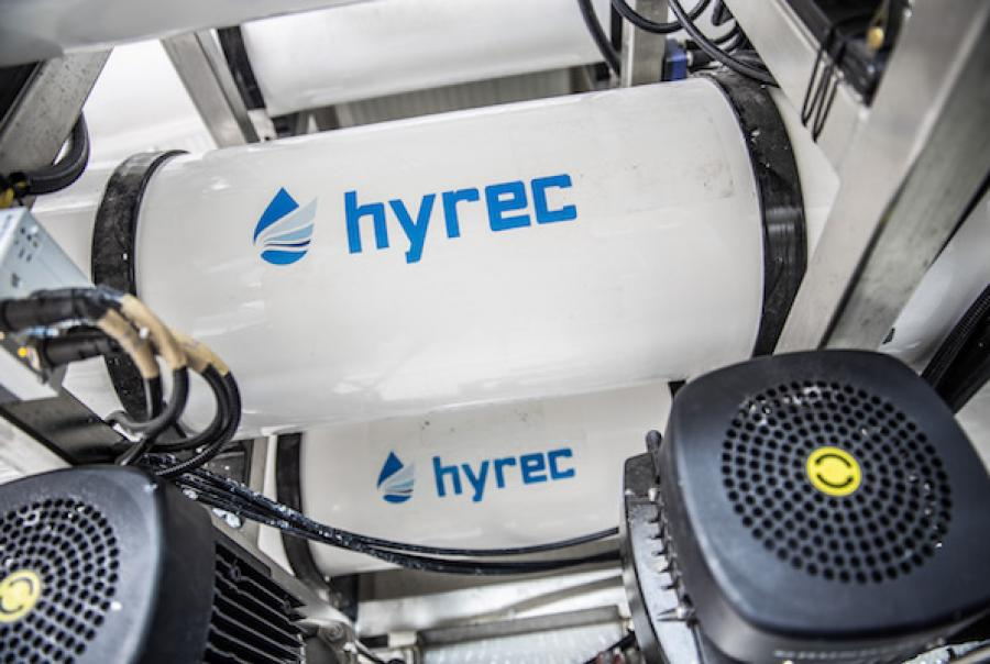 An alternative to thermal brine concentrators for reverse osmosis