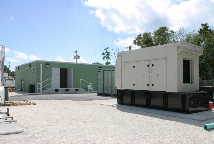 A vacuum station in Key Largo, Fla.