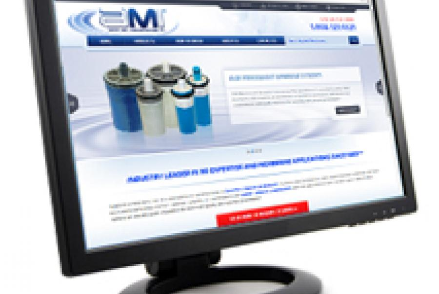 Applied Membranes Inc. website redesign