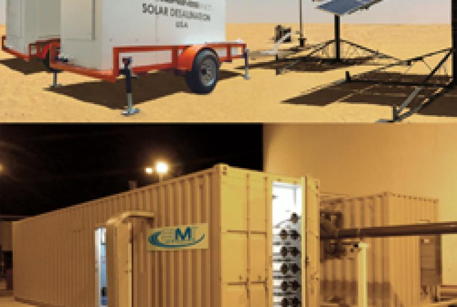 Containerized Membrane Systems
