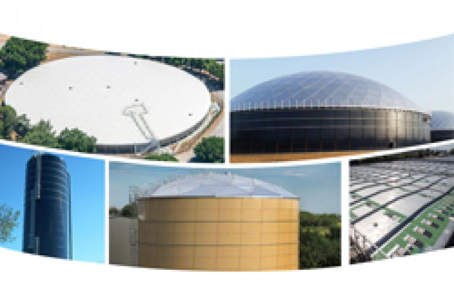 Water Storage Tanks & Aluminum Covers