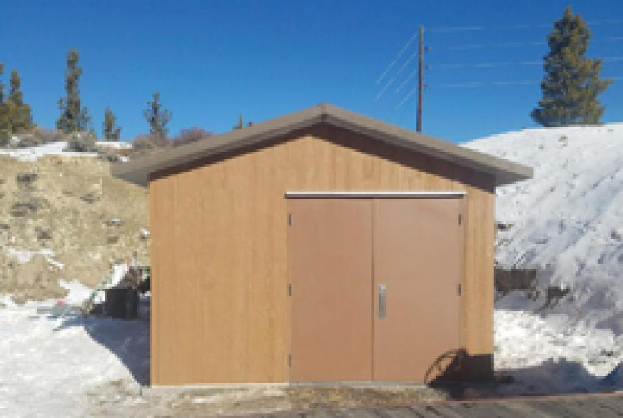 Precast Concrete Pump House