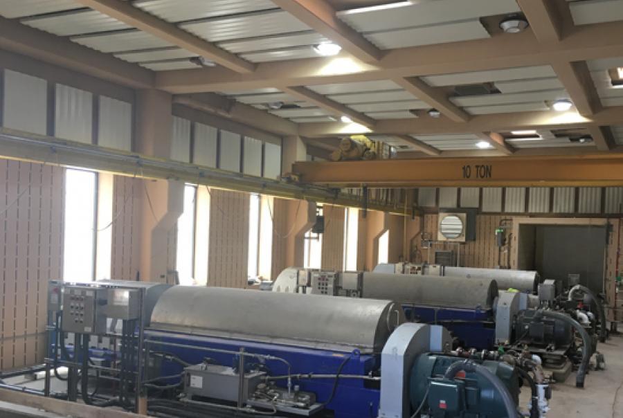Acoustic Panels Reduce Centrifuge Roar